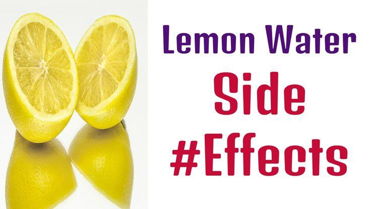 #Lemon Water Side Effects  Telugu Health