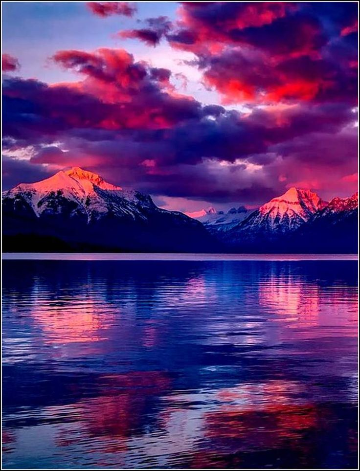 Lac McDonald - Montana - Etats-Unis