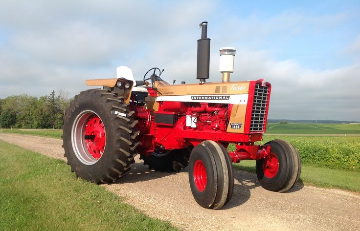 Ih 1456 Tractor : Ih gold demo brady boy favorites pinterest