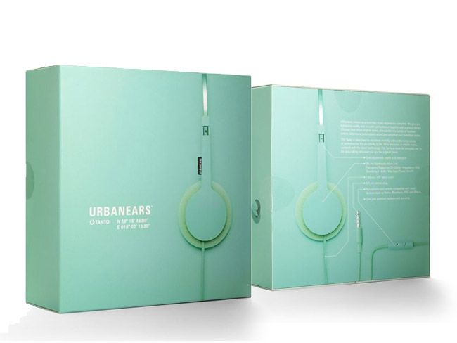 Packaging of the World: Creative Package Design Archive and Gallery: Urban Ears