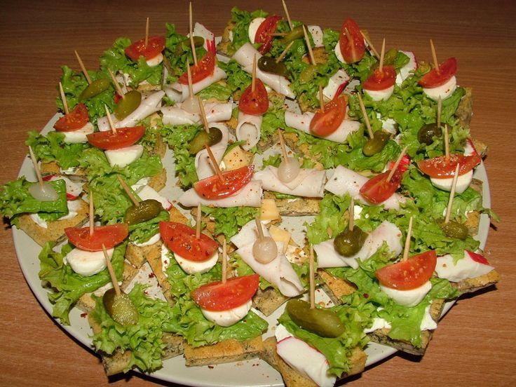 imprezowy bufet (różne przepisy)