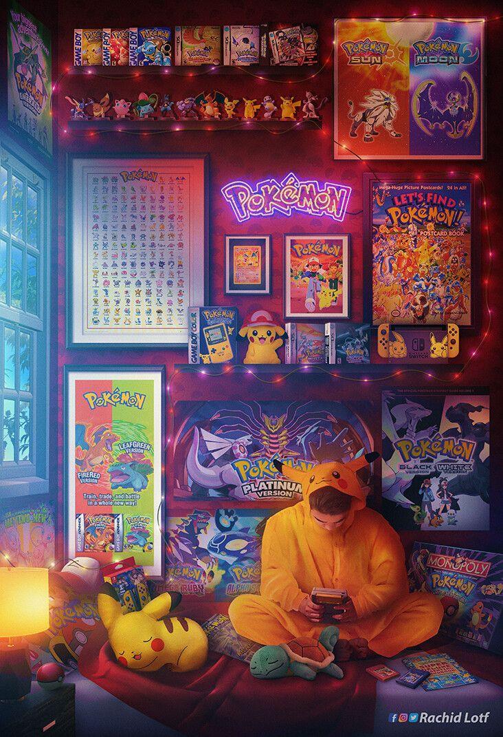 Nostalgia Meets Artistry In This Incredible Video Game Artwork Retro Gaming Art Game Art Video Games Artwork