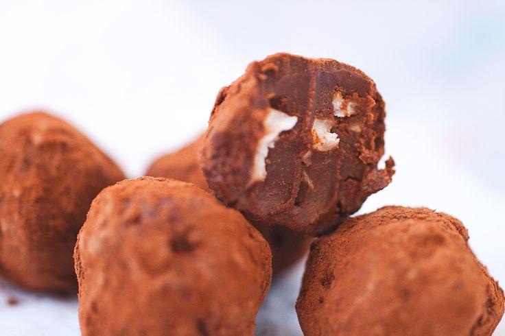 Två sorters chokladtryffel – ROETHLISBERGER
