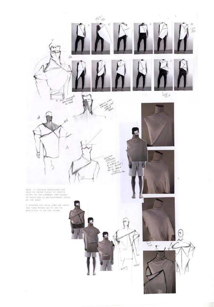 Fashion Sketchbook - fashion design, drape development & fashion sketching // Luke Astro