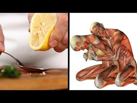 Mixe den Saft einer Zitrone mit Olivenöl - Trinke es morgens und das passiert mit deinem Körper! - YouTube