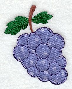 Grapes (Heirloom Applique)