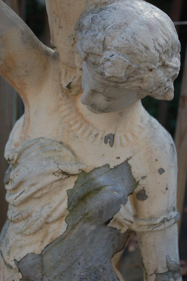 Old Garden Statue: 92 Best Images About Vintage Garden And Vintage Concrete
