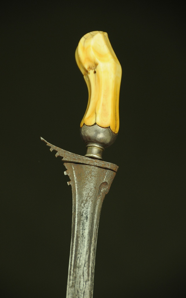 19th c. Ivory Hilted Executioners Keris dagger   Executions were performed by the village doctor