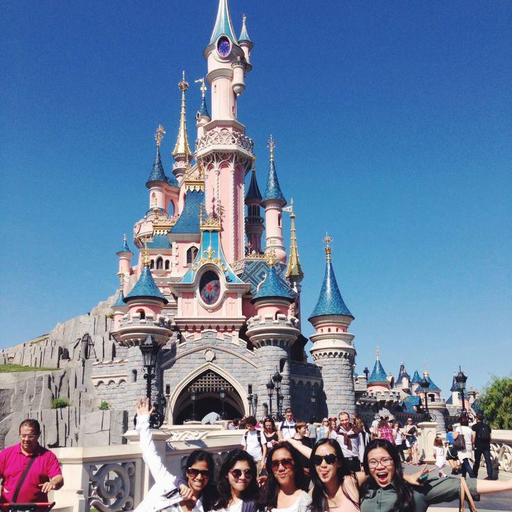 Disneyland, Paris.