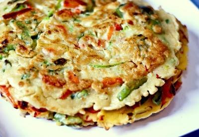 Korean Vegetable Pancakes | Mothers Mementos