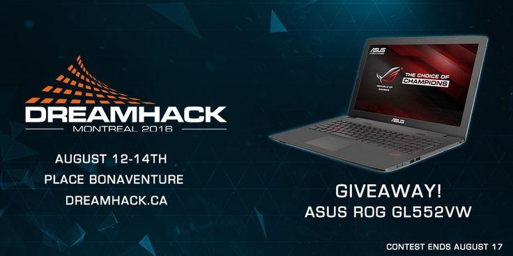 Contest - ASUS ROG laptop up for grabs! Portable ASUS ROG à gagner!