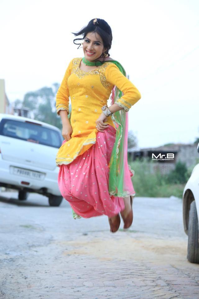 Colors. Suit. Indian. Patiala