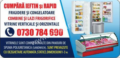 Vand frigidere, congelatoare, lazi, vitrine si combine frigorifice... http://e-calarasi.eu/ads/vand-frigidere-congelatoare-lazi-vitrine-si-combine-frigorifice/