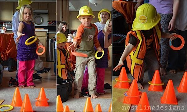 Best 25 Construction Party Games Ideas On Pinterest