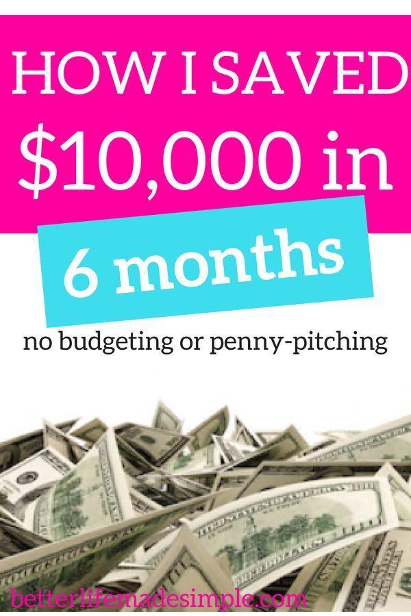 Amela Mujic How I Saved 10 000 In 6 Months Money Saving Tips Budgeting Ways To Save Money
