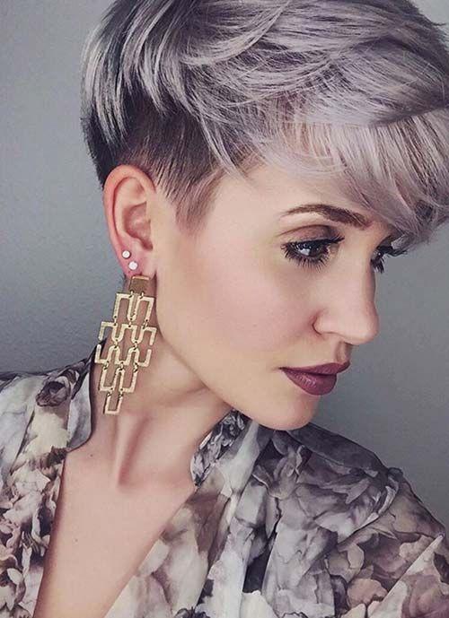 12 Kurzhaarfrisuren für Frauen mit Stil, die auf der Suche nach etwas Neuem sind! - Neue Frisur
