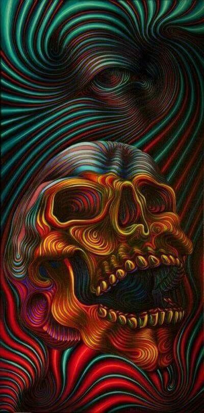 El cráneo de Dalí!!