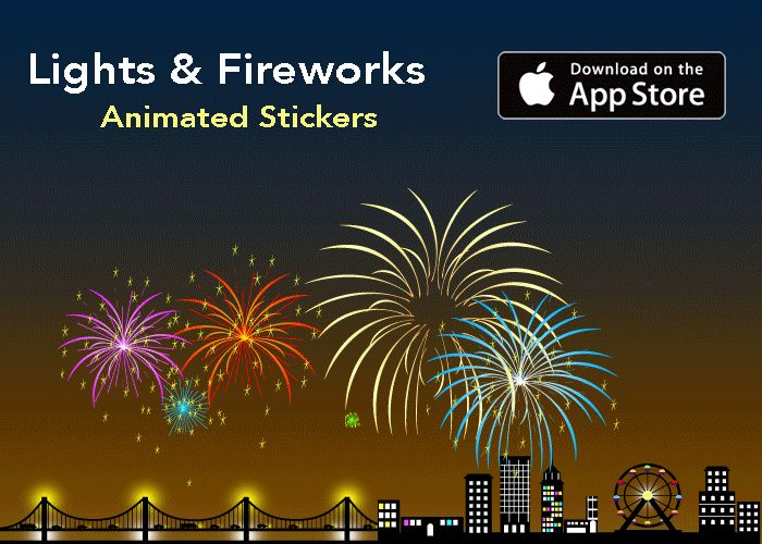 Animated Fireworks for any occasion!