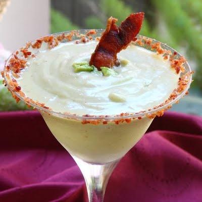 ShowFood Chef: CampBlogAway & Spicy Avocado-n-Bacon Frozen Magarita Recipe