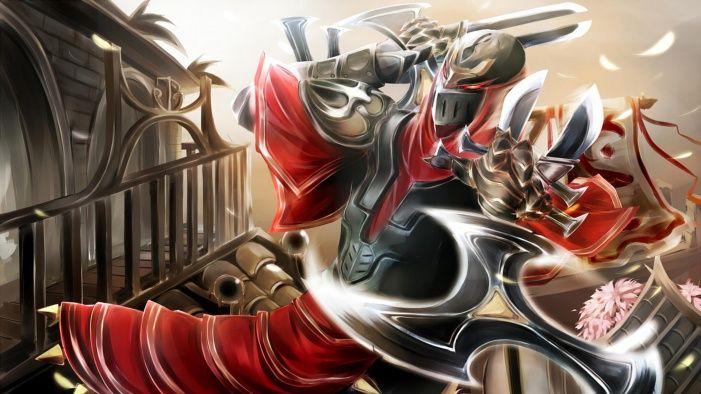 League Of Legends HD Zed Wallpaper Free HD Desktop And Mobile Wallpaper | WallpaperPlay