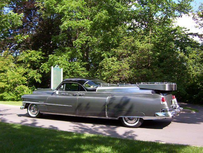 1953 Cadillac Eureka Flower Car Maintenance Restoration Of Old