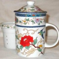 Chinese Tea Cups - In the Garden - $12.99