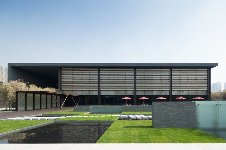 Jinan Vanke Marketing Center / Tsushima Design Studio