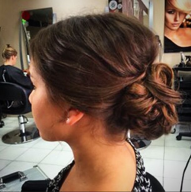 Another day, another amazing updo from @sarahgilarte!! Perfect for formals, engagement parties, brides, bridesmaids, or even for date night - book in for a new 'do with our #parramatta or #carlingford team today! #hairbyphd #hairbyphdparramatta #updo #longhairstyles #hairstyle #hairdo #bun #chignon #formalhair