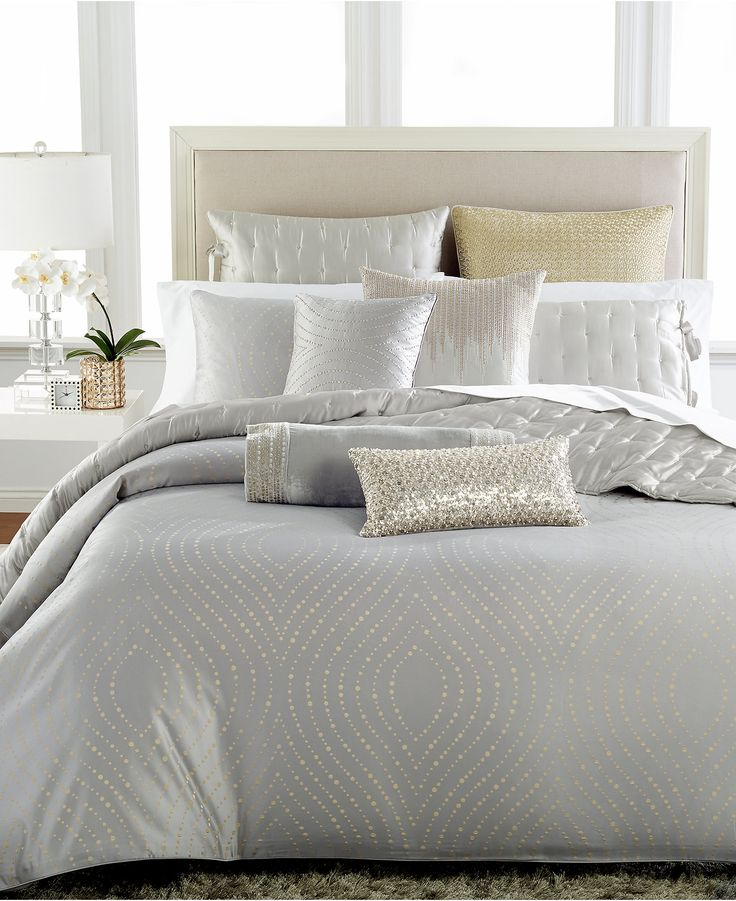 Hotel Collection Finest Silver Leaf Bedding Collection - Bedding Collections - Bed & Bath - Macy's