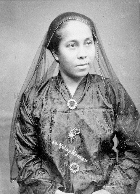 PORTRAIT OF A MALAY WOMAN 1890
