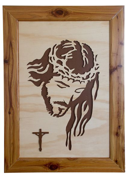 Wooden Cross Patterns Free | Jesus for local church. - Scroll Saw Woodworking & Crafts Message ...:
