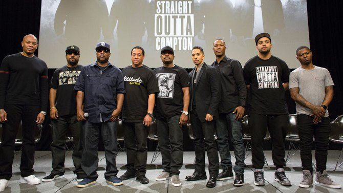 Straight Outta Compton Cast | Straight Outta Compton': Cast Talks Police Brutality, And More ...
