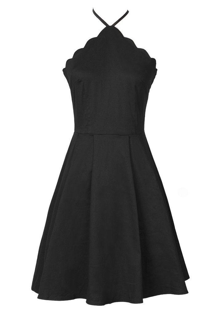 Cupshe Petal Affairs Pure Halter Dress