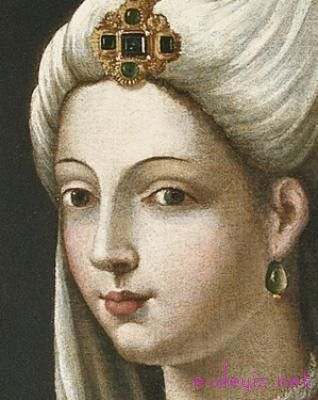 Real Mihrimah Sultan (Hürrem Sultan's daughter)