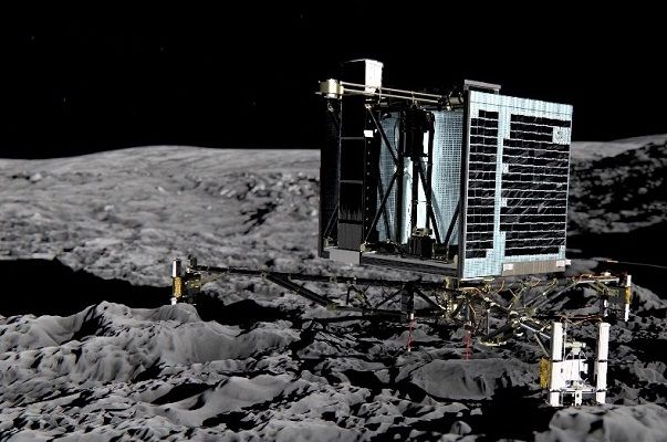 European robot lab piggybacking on a comet nears the sun #Particles, #Pristine, #Rosettab