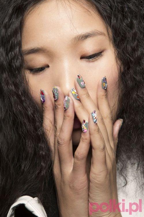 modne paznokcie na jesień 2015 #polkipl