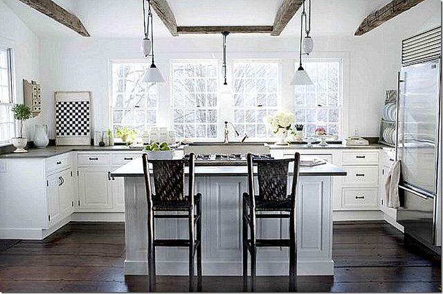 no upper cabinets   Kitchen Inspiration   Pinterest