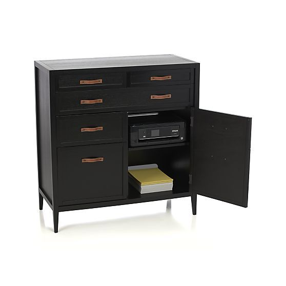 Newman Home Office in Filing Cabinets & Carts | Crate and Barrel