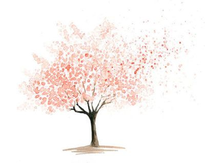 Love the fullness and the flying away petals, love the idea of a tree in my logo. I think I want something similar to this in my logo and for my tattoo