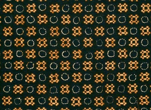 Gambar Batik Yogyakarta - motif nitik kembang jeruk
