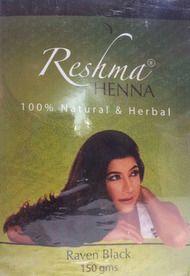 Reshma Henna 100% Natural & Herbal (Raven Black)