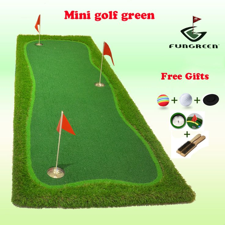 1X3M Indoor & Outdoor Mini Golf Putting Green Turf Practice Putting Green Golf Training Green with Free Gifts OEM Logo Drop Ship #Affiliate