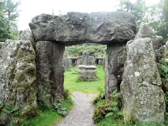 Druids Temple at Masham http://where2walk.co.uk/yorkshire_dales/village_walks/druids-temple-at-masham/