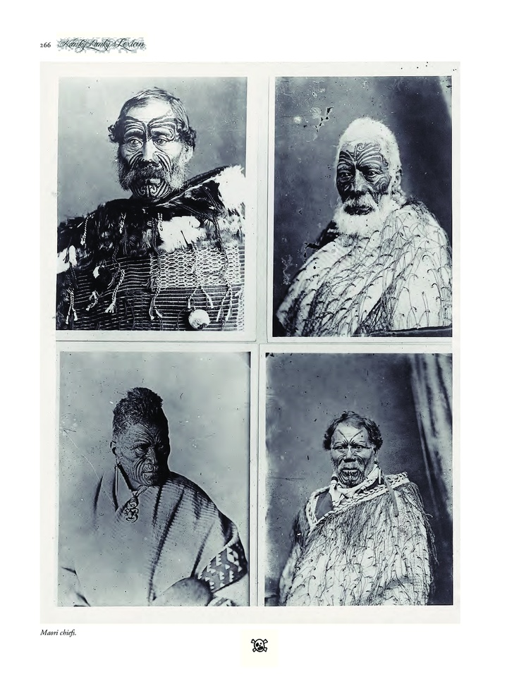 Maori chiefs from the Encyclopedia for the art and history of tattooing by Henk Schiffmacher, off course for sale in our webshop