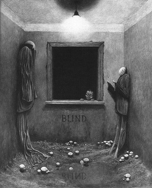 Zdzisław Beksiński - art should make you feel, even if that feeling is scared