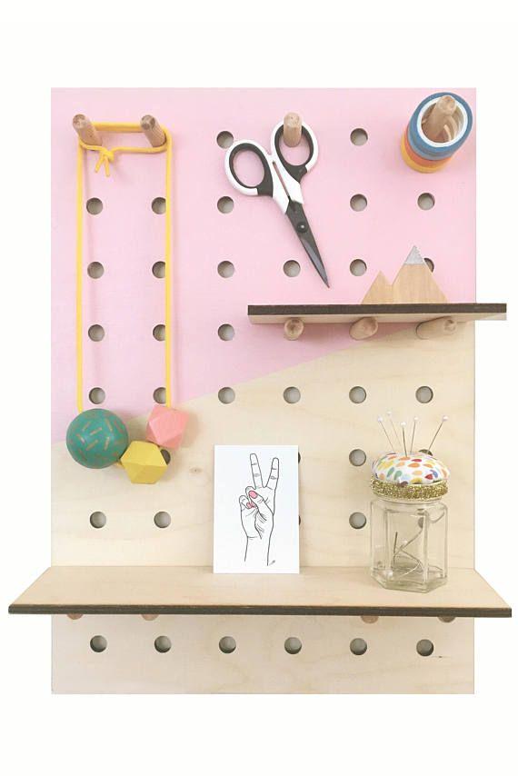 Peg board  A3 Peg Board  Storage  Craft Display  Display