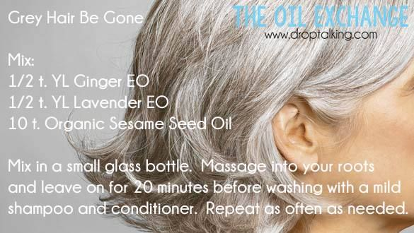 Young Living Essential Oils: Gray Hair