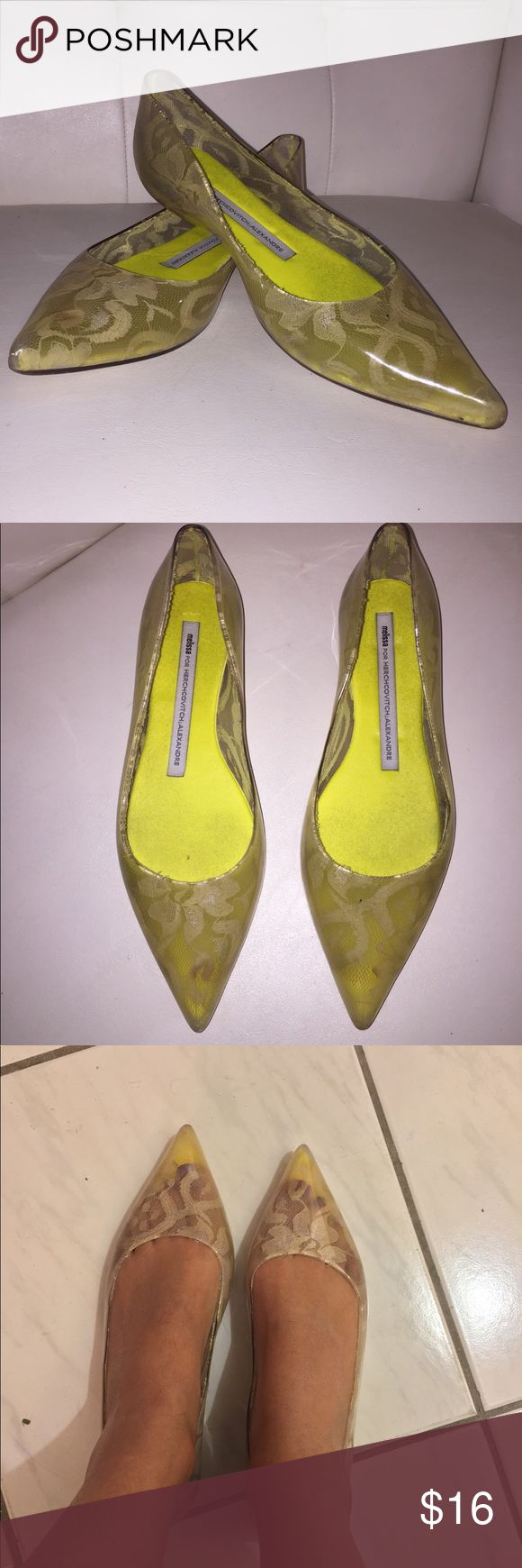 MELISSA flats Used condition size 7 Melissa Shoes Flats & Loafers