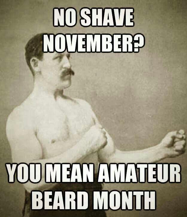 Image result for no shave november amateur