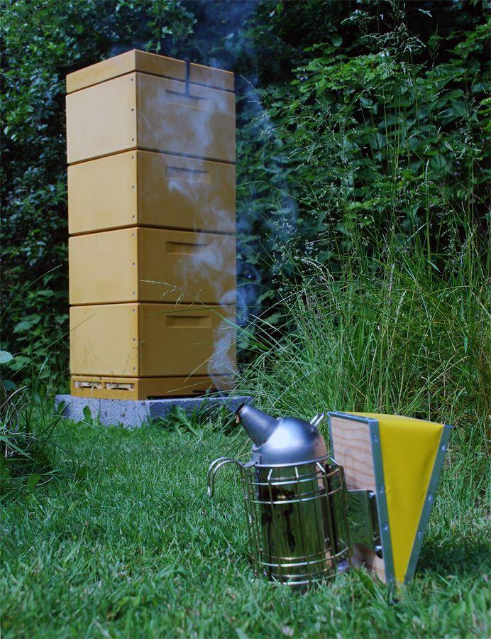 Bierne i vores have